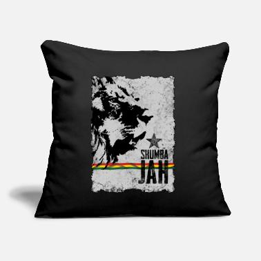 "Shumba reggae shumba jah - Throw Pillow Cover 18"" x 18"""