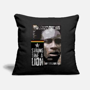 "Shumba Strong like a lion - Throw Pillow Cover 18"" x 18"""