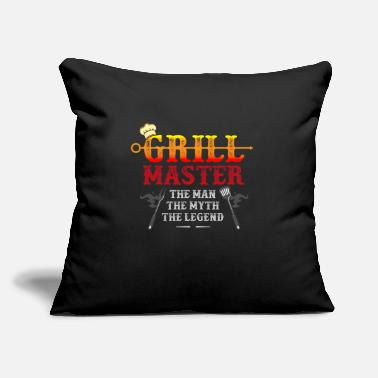 "Texas barbecue, barbecue grill, texas brick state - Throw Pillow Cover 18"" x 18"""