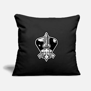 "Cosmic Cosmic Travel - Throw Pillow Cover 18"" x 18"""
