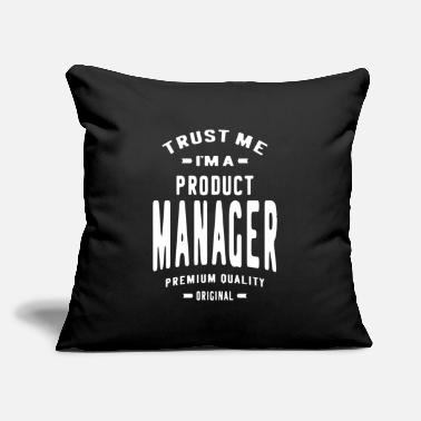 "Production Year Product Manager - Throw Pillow Cover 18"" x 18"""