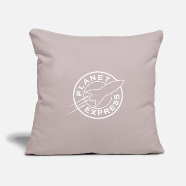 "Planet Express - Throw Pillow Cover 18"" x 18"""