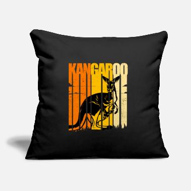 "Kangaroo Kangaroo - Throw Pillow Cover 18"" x 18"""