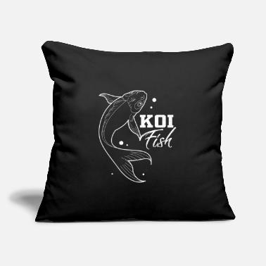 "Koi Koi - Throw Pillow Cover 18"" x 18"""