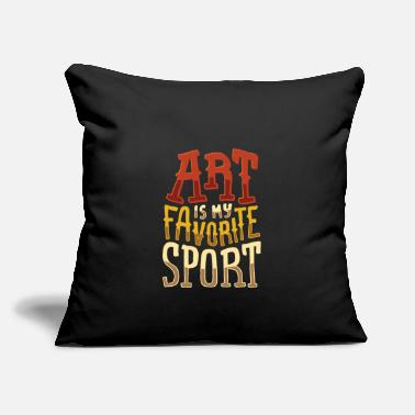 Cool Art Is My Favorit Sport Graphic Dire le cadeau - Housse de coussin