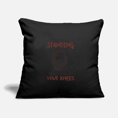 "Che Guevara Che Guevara better to die standing quote - Throw Pillow Cover 18"" x 18"""