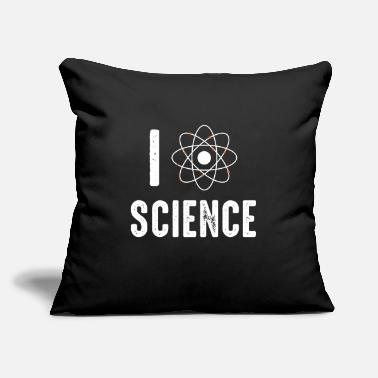 "Agronomy I love science - Throw Pillow Cover 18"" x 18"""