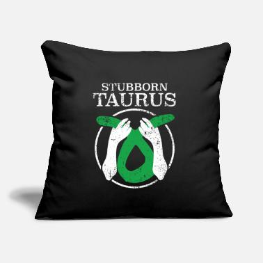 "Astrology Taurus - Throw Pillow Cover 18"" x 18"""