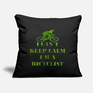 Cycling Cycling - Throw Pillow Cover