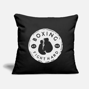 "Match boxing - Throw Pillow Cover 18"" x 18"""