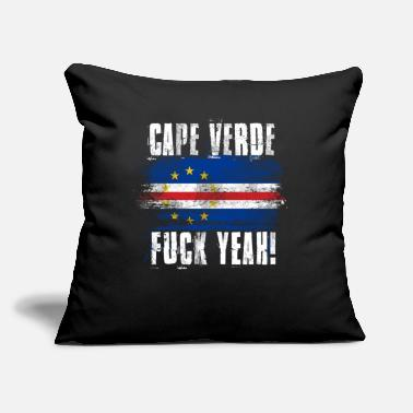 "Cape Verde Fuck Yeah! - Throw Pillow Cover 18"" x 18"""