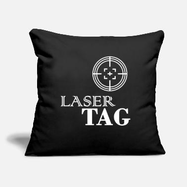 "Lasertag Lasertag - Throw Pillow Cover 18"" x 18"""