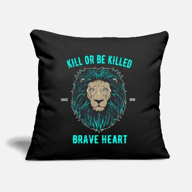 "Kill Kill or be killed - Throw Pillow Cover 18"" x 18"""