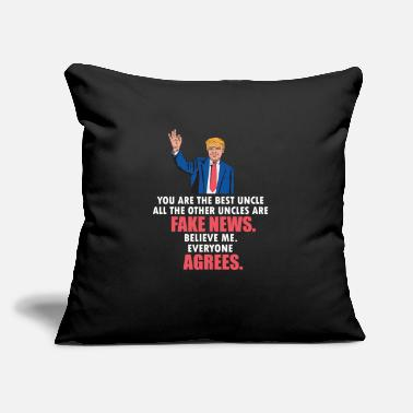 Democrat Uncle Gifts - Funny Donald Trump USA Politics - Throw Pillow Cover