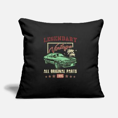Original Vintage 1995 All Original Parts 23th Birthday Gift - Throw Pillow Cover