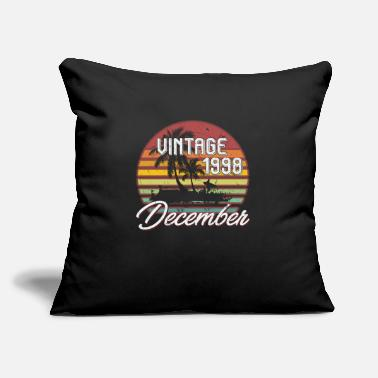 Husband 20th Birthday Gifts Retro Vintage December 1998 - Throw Pillow Cover