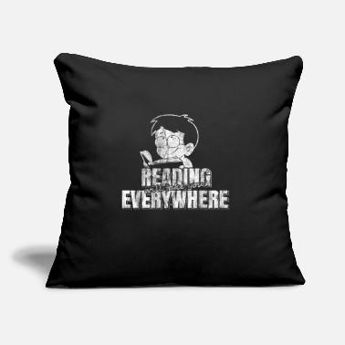 Book reading books - Throw Pillow Cover