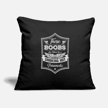 "Rescue Services Paramedic Shirt - Rescue Service - taken by - Throw Pillow Cover 18"" x 18"""