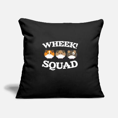 "Domestic Cavy guinea pig squad pet animal cute funny cavy - Throw Pillow Cover 18"" x 18"""