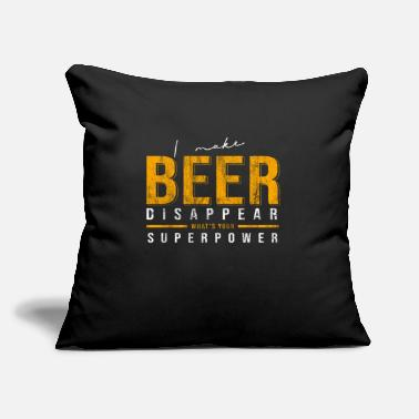 "Liquor Beer superpower liquor - Throw Pillow Cover 18"" x 18"""