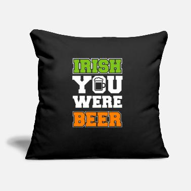 Irish Beer Lucky gift - Throw Pillow Cover