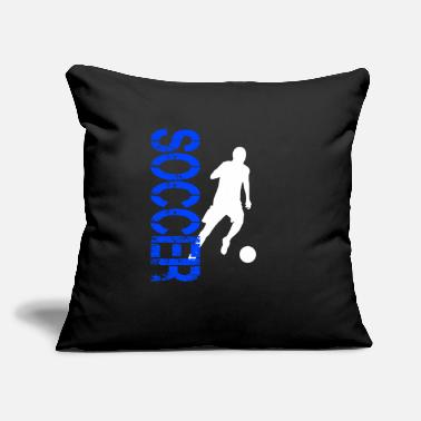 "Soccer Soccer, soccer player, soccer match, soccer traini - Throw Pillow Cover 18"" x 18"""