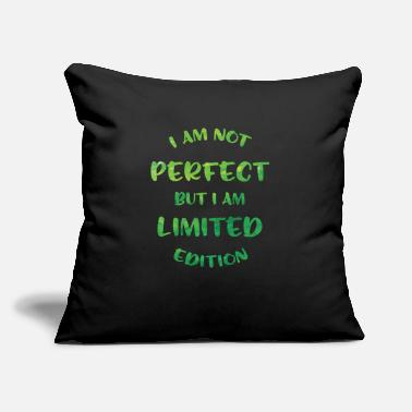"Not Perfect Not perfect but.. - Throw Pillow Cover 18"" x 18"""