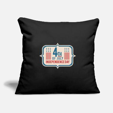 "4th 4th of july - Throw Pillow Cover 18"" x 18"""