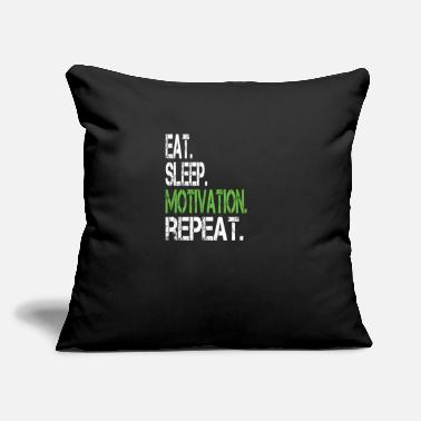 "Motivated Motivated - Throw Pillow Cover 18"" x 18"""