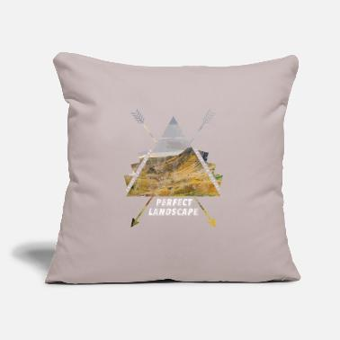 "Landscape Perfect landscape gift - Throw Pillow Cover 18"" x 18"""