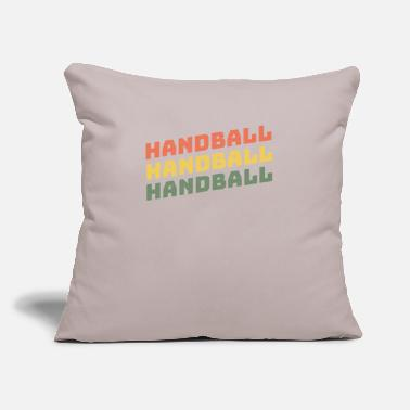 "Handball Handball Handball Handball - Throw Pillow Cover 18"" x 18"""