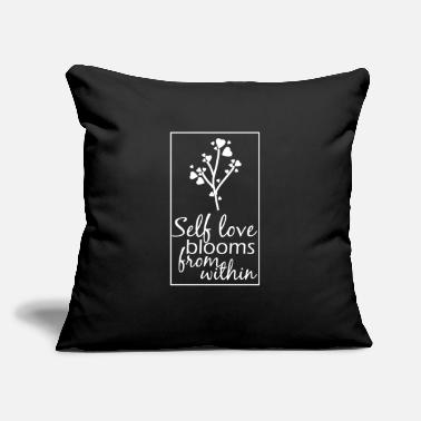 "Happiness Happy Happiness Happy Love Happy - Throw Pillow Cover 18"" x 18"""