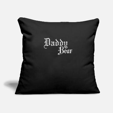 "Daddy Daddy Bear design | Sir Kinky product | Adult - Throw Pillow Cover 18"" x 18"""