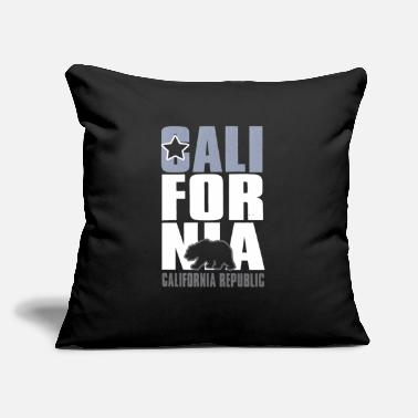 "Hollywood CALIFORNIA REPUBLIC - Throw Pillow Cover 18"" x 18"""