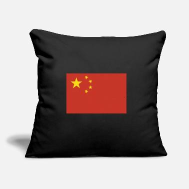 "China Flag of China, Chinas flag, China flag, flag China - Throw Pillow Cover 18"" x 18"""