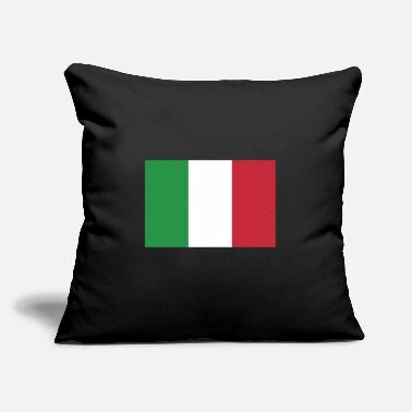 "Italy Flag of Italy, Italys flag, flag Italy, Italy flag - Throw Pillow Cover 18"" x 18"""