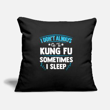 "Kung Kung Fu - Throw Pillow Cover 18"" x 18"""