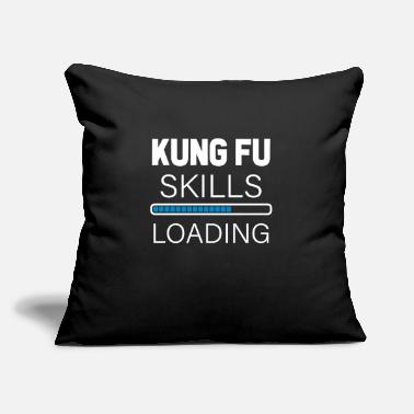 "Chinese Kung Fu Skills - Throw Pillow Cover 18"" x 18"""