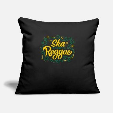 "Rude Ska & Reggae product | Jamaican Flag or Jamaica - Throw Pillow Cover 18"" x 18"""