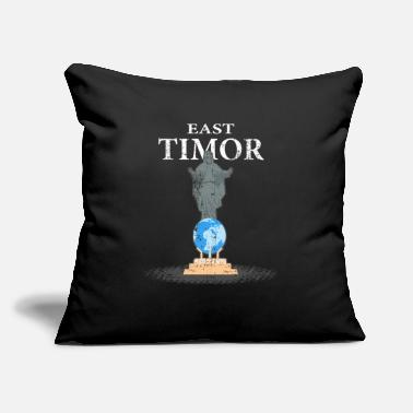"Vacation Country East Timor Dili Country island - Throw Pillow Cover 18"" x 18"""
