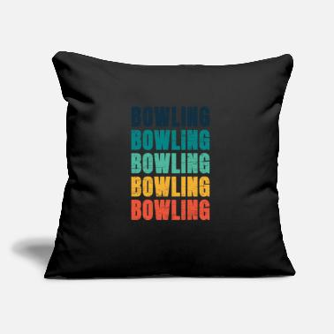 "Bowling Bowling Bowling Bowling Bowling - Throw Pillow Cover 18"" x 18"""