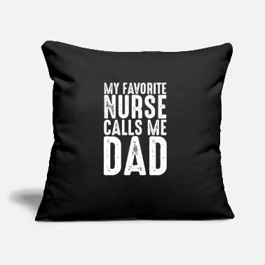 "Funny Parenting nurse nurse nurse hospital doctor - Throw Pillow Cover 18"" x 18"""