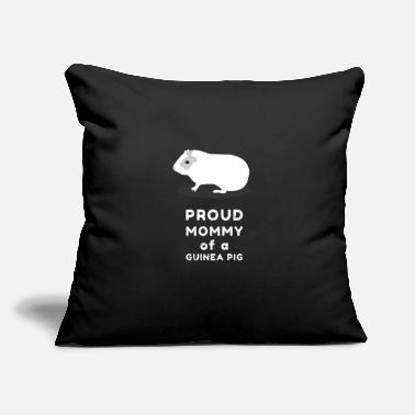 "Guinea Pig Guinea pig Guinea pig Guinea pig - Throw Pillow Cover 18"" x 18"""