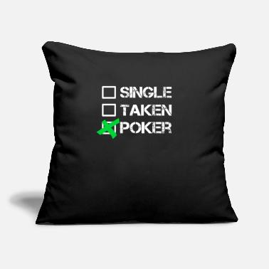 "Holdem Hold'em - Throw Pillow Cover 18"" x 18"""