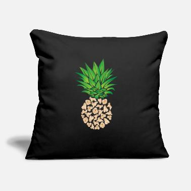 "Treats Cocker Spaniel, Dog, Pineapple - Throw Pillow Cover 18"" x 18"""