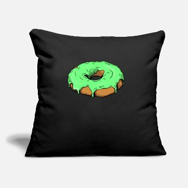 "Food Pastry Donut Pastry Food Food Sweets - Throw Pillow Cover 18"" x 18"""