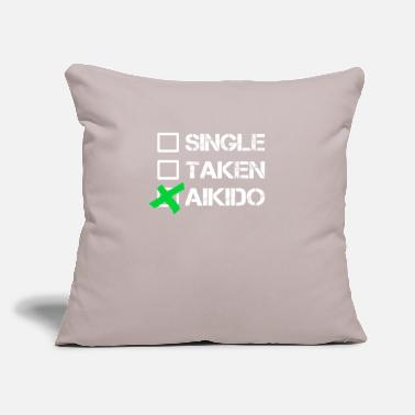 "Aikido Aikido Aikido Aikido Aikido - Throw Pillow Cover 18"" x 18"""