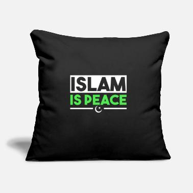 "Half Moon Islam gift religion faith Allah - Throw Pillow Cover 18"" x 18"""