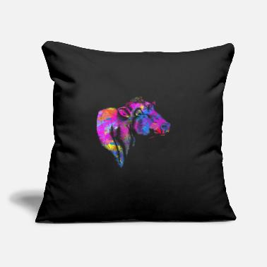 "Pbr Happiness is China Shop : Love is Bull - Throw Pillow Cover 18"" x 18"""