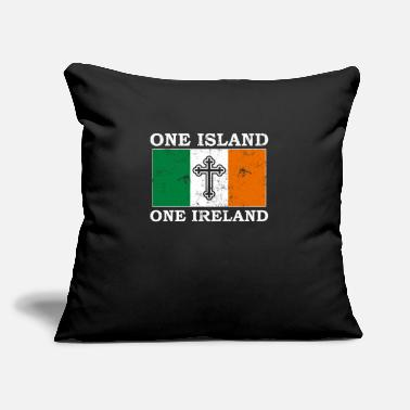 "Ireland Ireland - Throw Pillow Cover 18"" x 18"""
